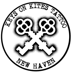 Keys on Kites Tattoo