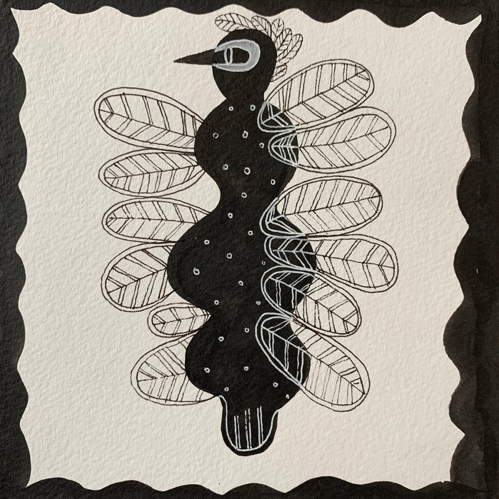 Ink on Paper