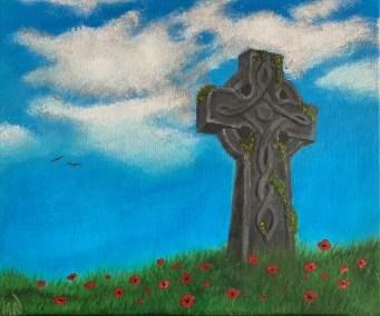 Symbols of Hope, painting by Ian Davies
