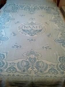 Don Davies WW1 NAAFI table cloth