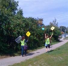 great volunteer parade leaders!