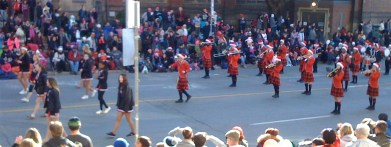 more skirling kilts - their leader (centre) was dancing and having a blast