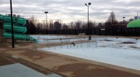 We rather like the look of the Riverdale East Park pool complex!