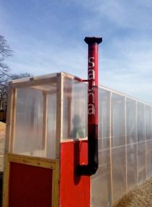 Winter Stations: Sauna - very cool chimney