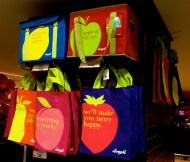 Fun at Longo's included the juice samples and... very cute shopping bags! (Yes, some were acquired!)