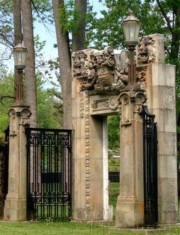 ornate reclaimed doorway
