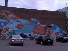"(Elizabeth Stewart's photo) 52 McCaul Street mural by Francisco Rodrigues da Silva (aka ""Nunca""), 2009"