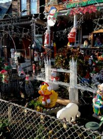 188 Brock Avenue... let the Christmas decorating fun begin!