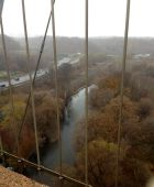 Don River, reflecting the grey sky. Beautiful day!