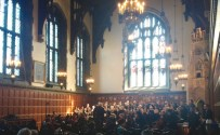 Hart House Singers concert, with Sally! Bright and warm performance in a sunny hall, with an over-capacity audience.