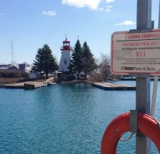 the larger Mimico lighthouse