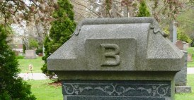 Prospect Cemetery: B and ornament