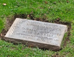 Prospect Cemetery: Murder? This young woman's mysterious demise was never solved. The suspected family moved away.