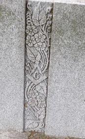 Prospect Cemetery: ornament (note Masonic symbolism)