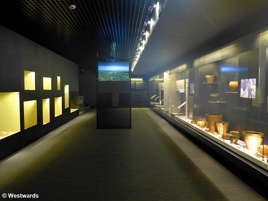 Inside Kernave Archeological Museum
