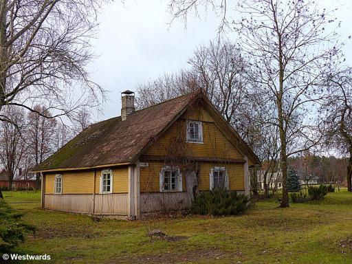 Kernave house
