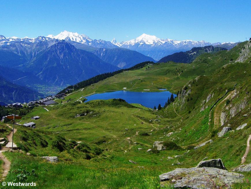 Lake Bettmer & Swiss Alps