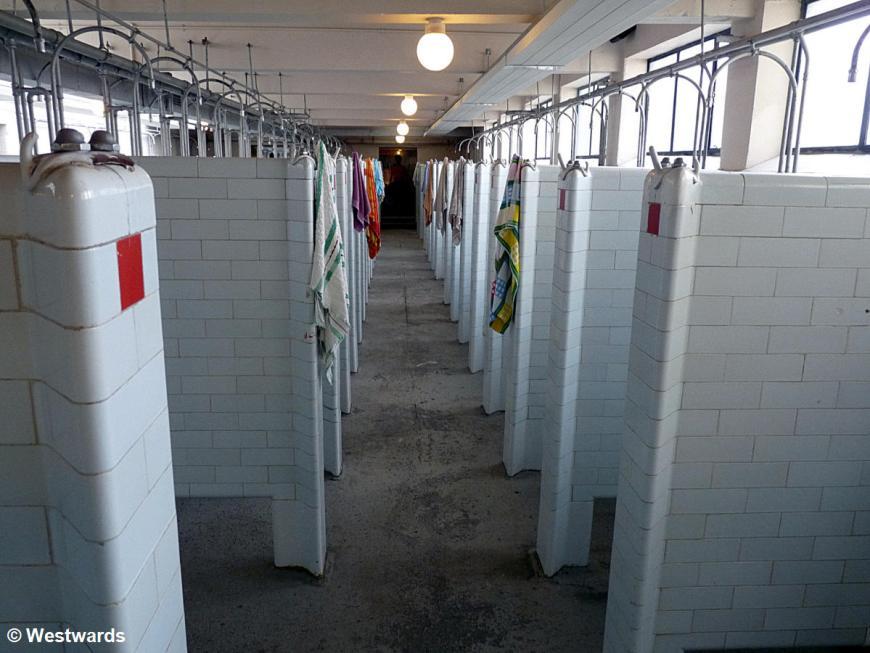20100614 Blaenavon Big Pit showers 1140829