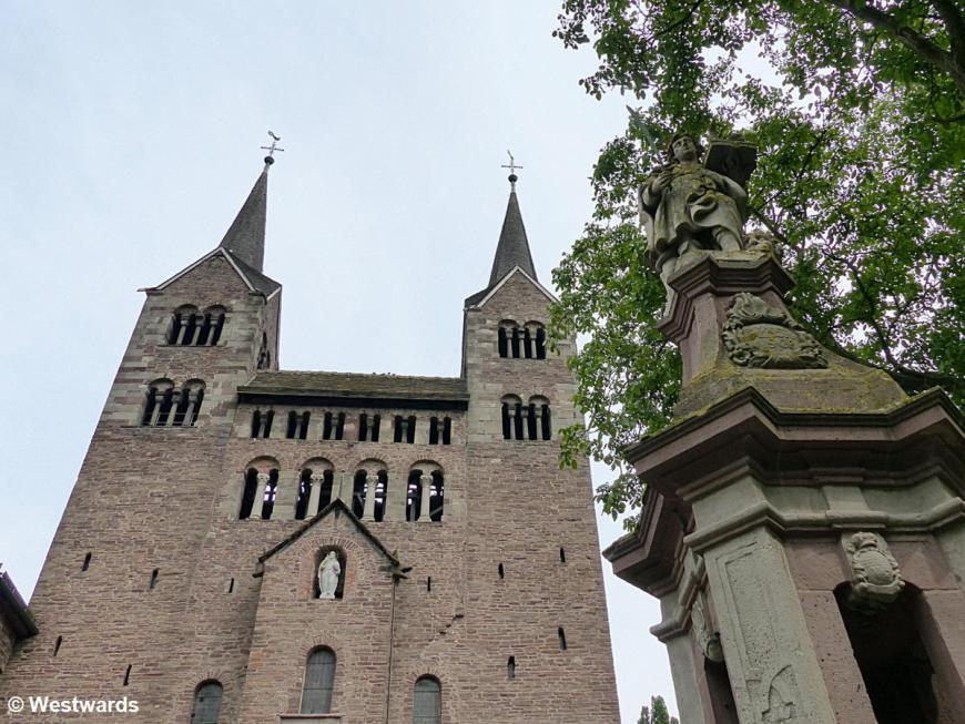 20140802 Kloster Corvey Westwerk P1100398