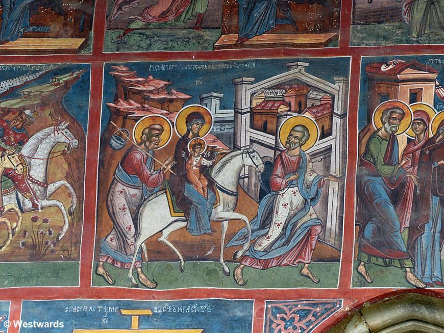 20140818 Moldovita Kloster Fresken P1110169