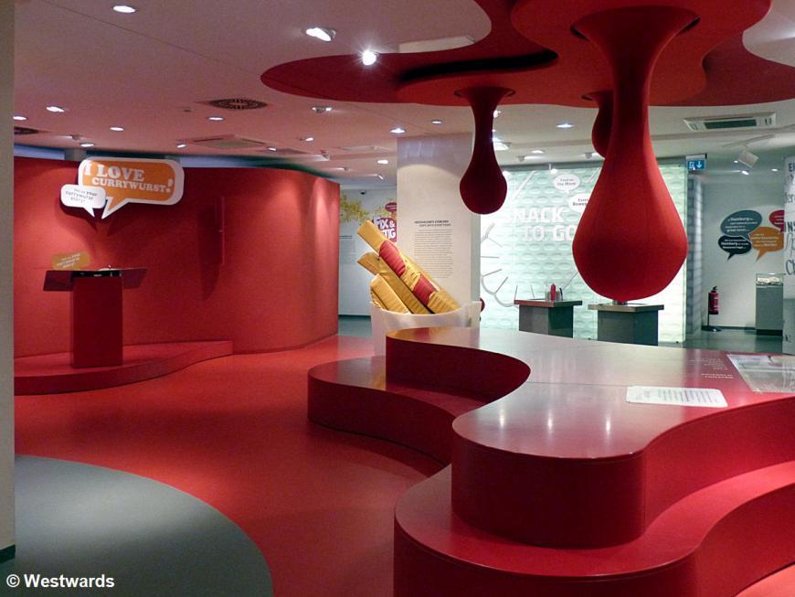 interior of Berlin Currywurst museum