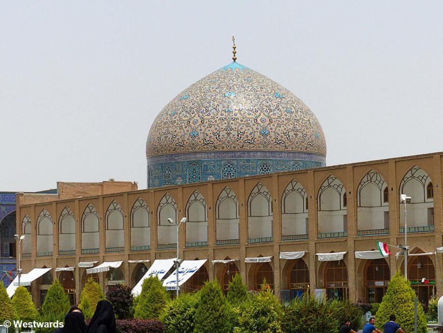 Lotfollah Mosque on Isfahan Naqshe Jahan square