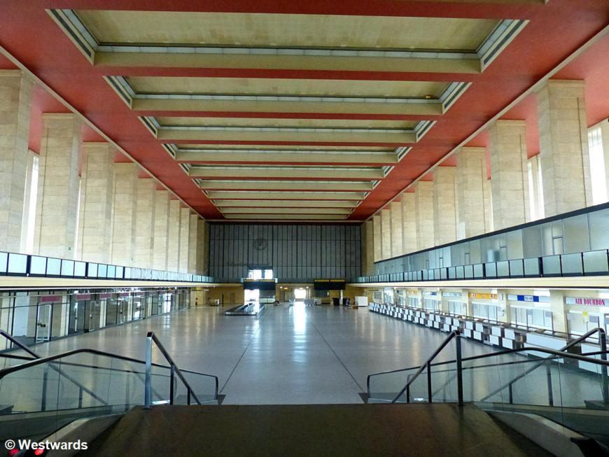 Check-in hall of former Tempelhof Airport