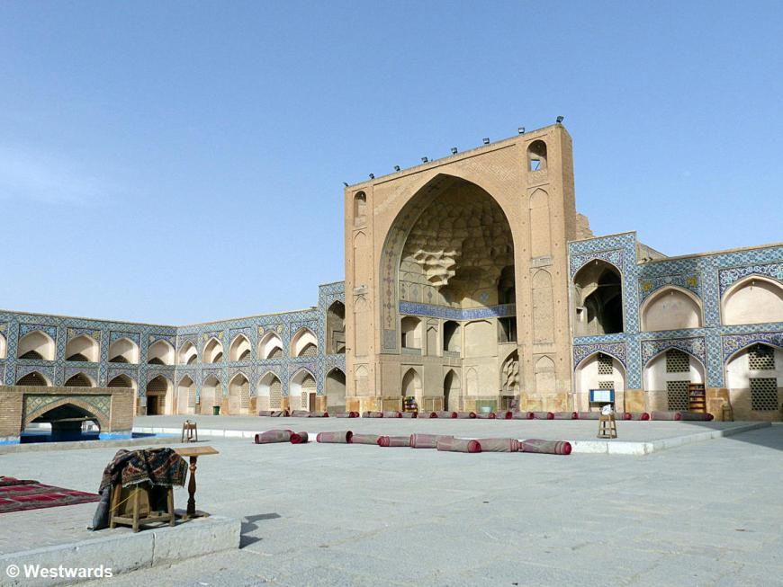Courtyard of the Great Mosque of Isfahan