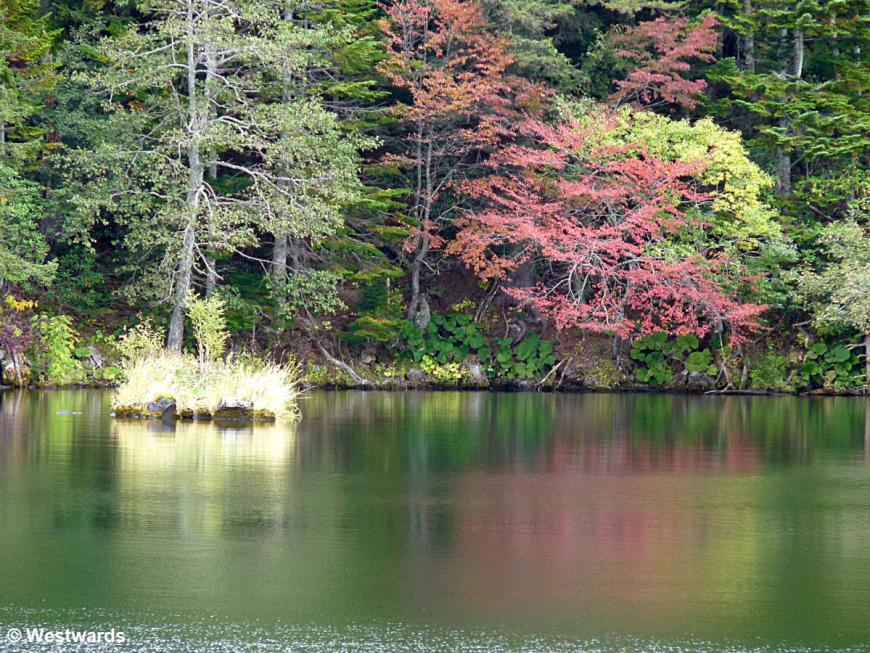 Lake Akanko in Hokkaido