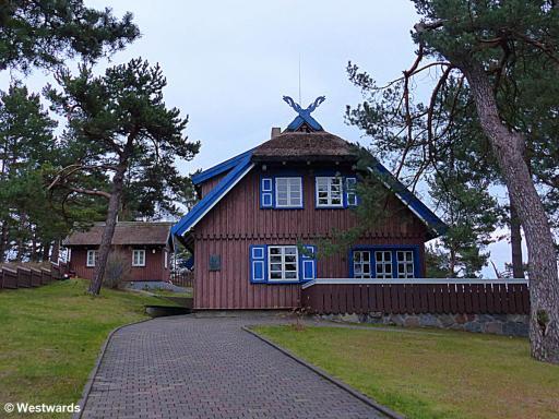 house of Thomas Mann near Nida