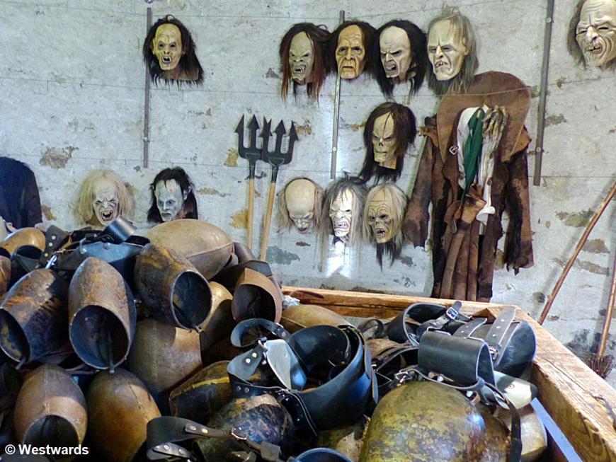 Krampus masks, Lienz