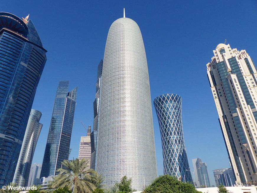 Skyline of Doha
