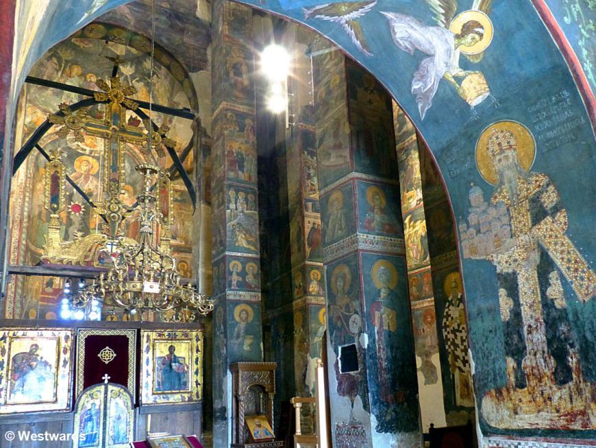 20170818 Gracanica Kirche Koenig Milutin P1460897