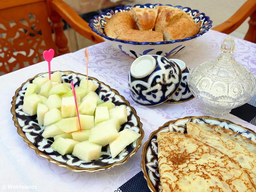 20180715 Buchara Old Buchara breakfast P1550486