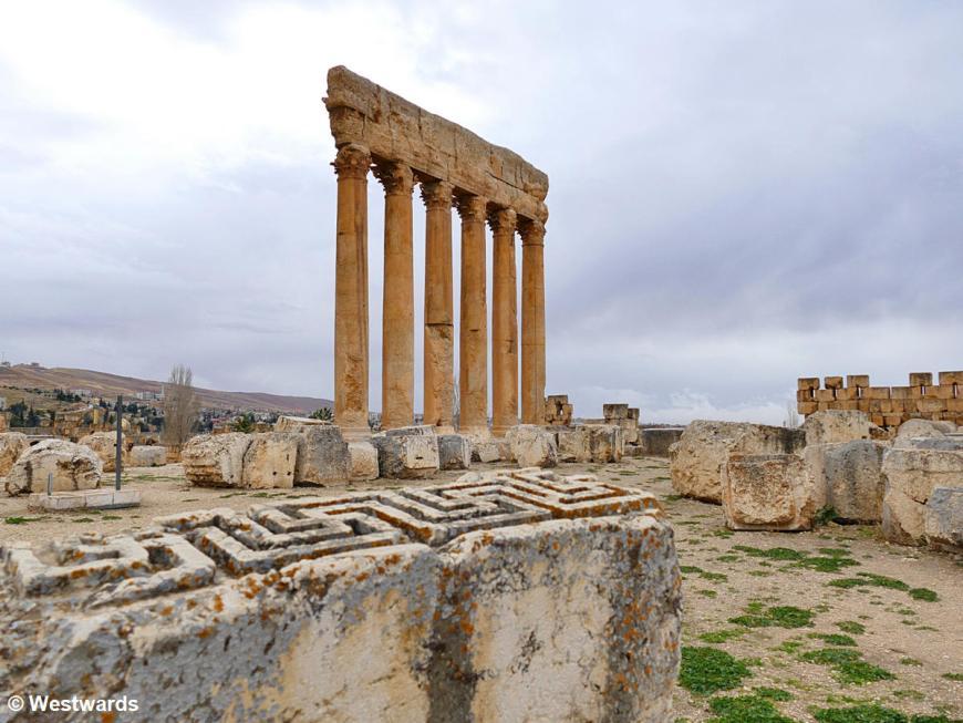 Ruins of Roman temples in Baalbek