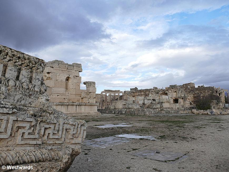 Ruins of Roman temples inBaalbek