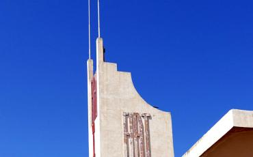 The Fiat Taglieri Building in Asmara
