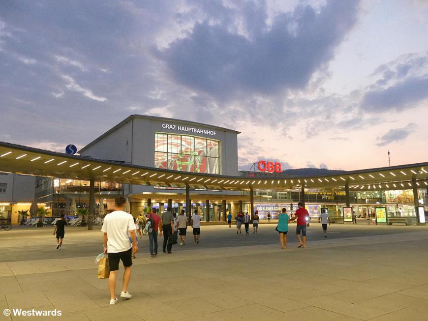 20200809 Graz  Bahnhof P1820125