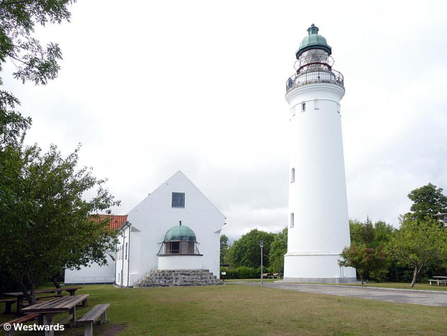 The lighthouse of Stevns Fyr, Denmark
