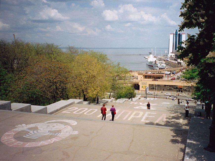 Potemkin steps in Odessa