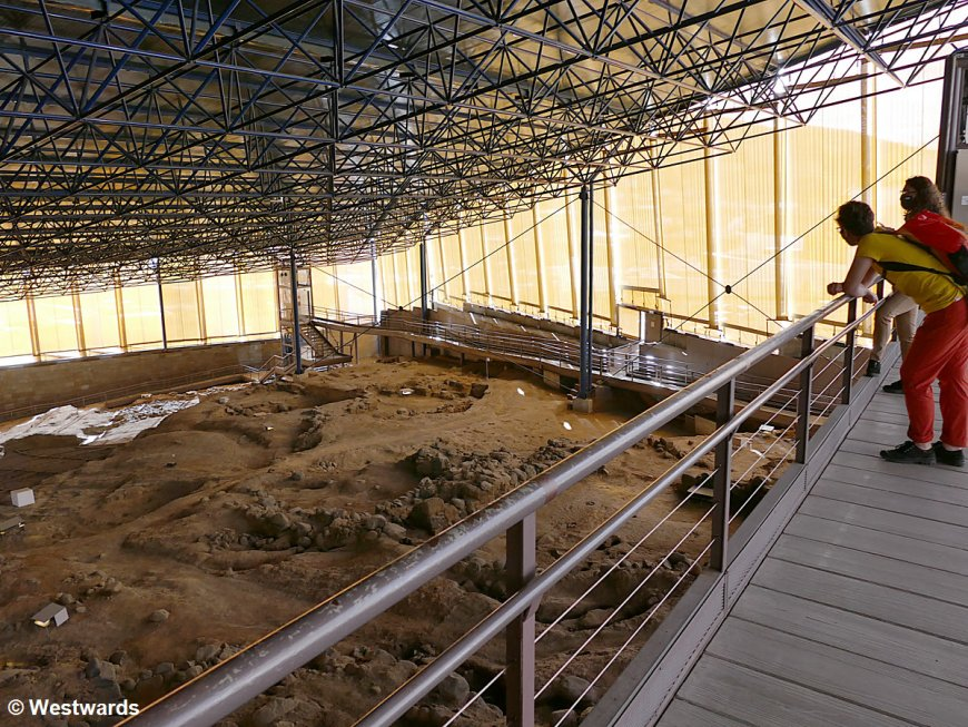 Excavated settlement of the pre-Hispanic population in Galdar, Gran Canaria
