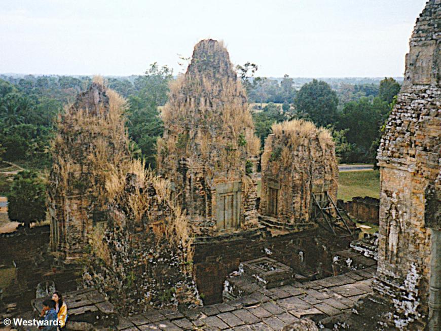 Ta Keo temple, Angkor Wat, in 2001