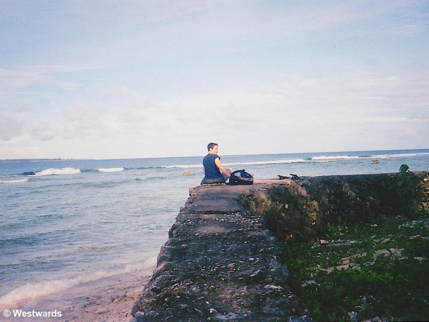 Isa at Agingan Beach on Saipan