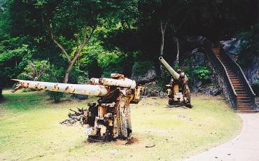 Japanese Post of Last Command, a Saipan sightseeing attraction