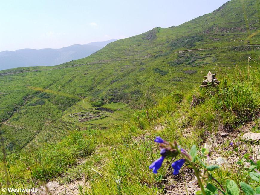 Hiking in Wutai Shan. China