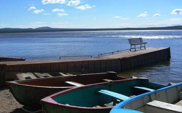 Travelling in Kazakhstan lead us also to beautiful Lake Burabai