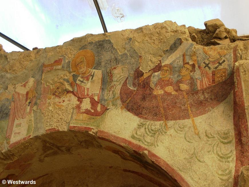 Frescoes in the church of St Nicholas in Myra / Demre