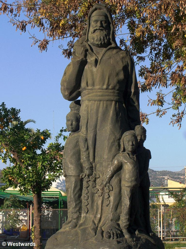 Nicholas of Myra statue in Demre