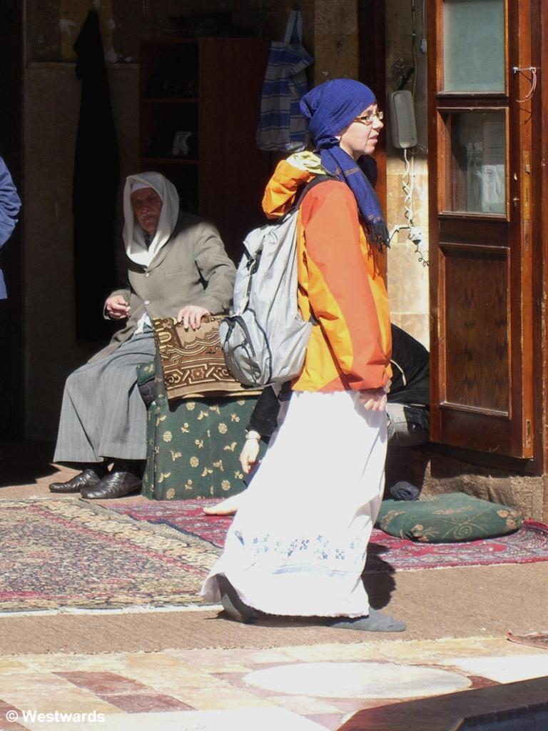 20070129 Damaskus Moschee Sheik Muheddin N