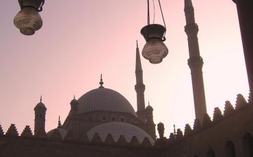 Minaret of the An-Nasir Mohammed Mosque in Cairo